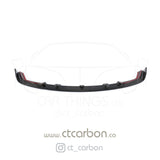 BMW M2C F87 CARBON FIBRE SPLITTER - 3D STYLE - CT Carbon