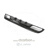 MERCEDES W205 C63 & C63S SALOON CARBON DIFFUSER - PS STYLE - CT Carbon
