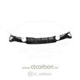 BMW F32 & F33 4 SERIES CARBON FIBRE DIFFUSER - MP STYLE - DUAL EXHAUST - CT Carbon