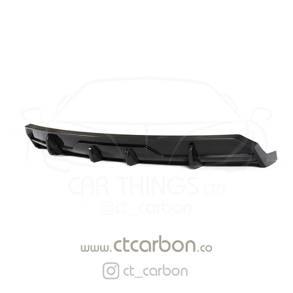 TESLA MODEL 3 CARBON FIBRE DIFFUSER - CT DESIGN - CT Carbon