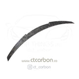 BMW M4 F82 FORGED CARBON FIBRE SPOILER - V STYLE - CT Carbon