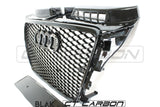 AUDI A3 S3 8P 2008-2012 ALL BLACK HONEYCOMB GRILL - BLAK BY CT CARBON - CT Carbon