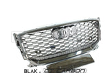 AUDI Q2 2018+ ALL BLACK HONEYCOMB GRILL - BLAK BY CT CARBON