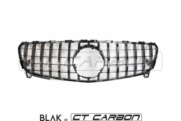MERCEDES W176 A-CLASS & CLA-CLASS 2016-2018 BLACK GRILL - CT Carbon