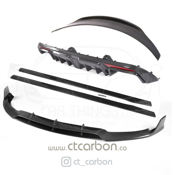 MERCEDES C63 W205 SALOON FULL CARBON FIBRE KIT - B STYLE - CT Carbon