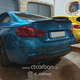 BMW F32 4 SERIES CARBON FIBRE SPOILER - MP STYLE - CT Carbon
