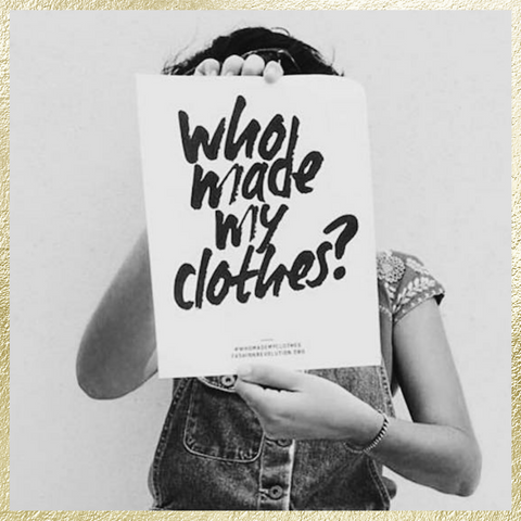 Who made my clothes? Ginger Threads Collections