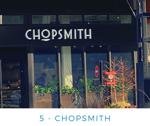 Ginger Threads Collections Blog: Visit the DC Wharf - Chopsmith