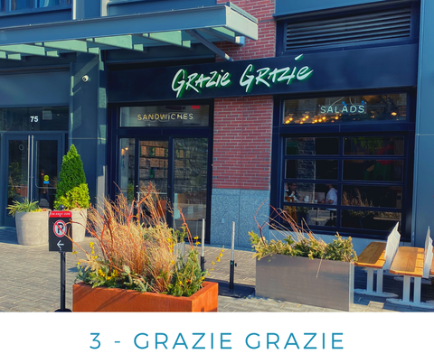 Ginger Threads Collections Blog: Visit the DC Wharf - Grazie Grazie