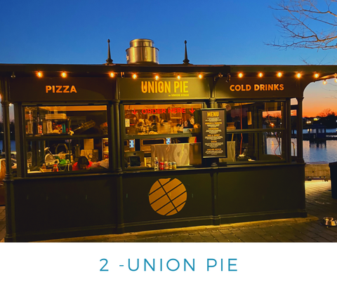 Ginger Threads Collections Blog: Visit the DC Wharf - Union Pie