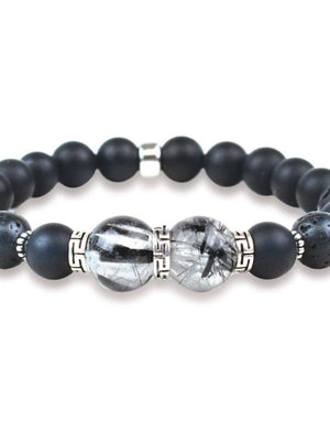 Ginger Threads Collections bracelets Energy Healing Stone Bracelet - Empire State