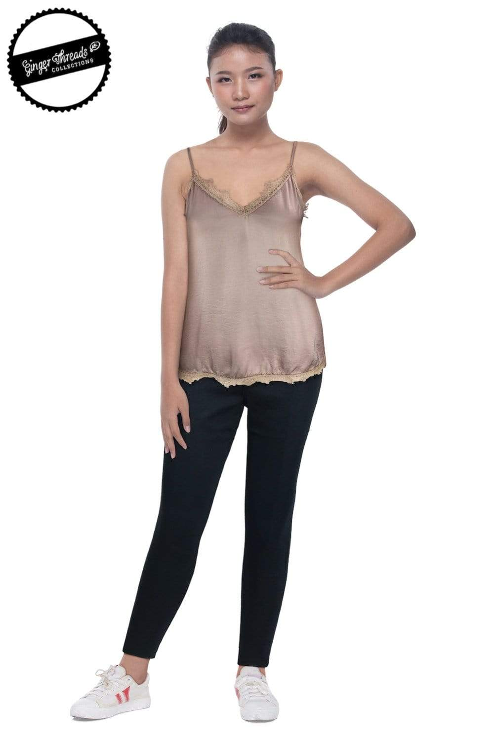 Ginger Threads Collections camisole Lace Trim Camisole