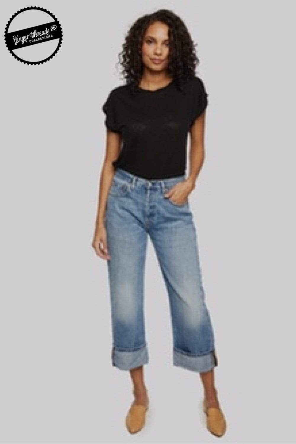 Ginger Threads Collections jeans Boyfriend Jeans