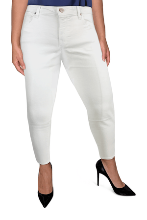 Ginger Threads Collections jeans White Straight Mid-Rise Jeans
