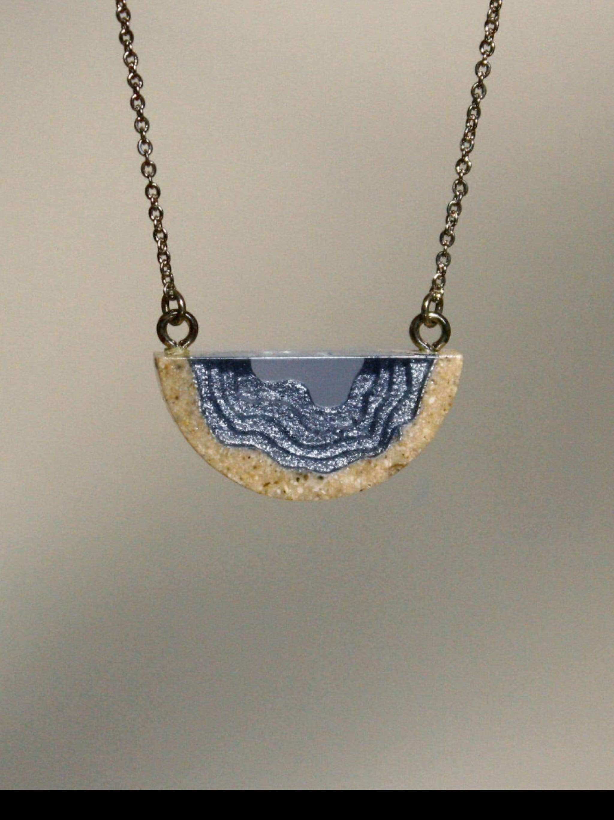 Ginger Threads Collections Necklace Inlet Necklace