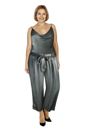 Ginger Threads Collections pants Sage Tie Front Pants
