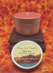 Apple Jack Soy Candle - Jersey Girl Candles