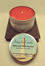 Load image into Gallery viewer, Apples and Maple Bourbon Soy Candle - Jersey Girl Candles