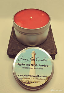 Apples and Maple Bourbon Soy Candle - Jersey Girl Candles