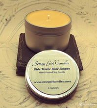 Load image into Gallery viewer, Olde Towne Bake Shoppe Soy Candle - Jersey Girl Candles