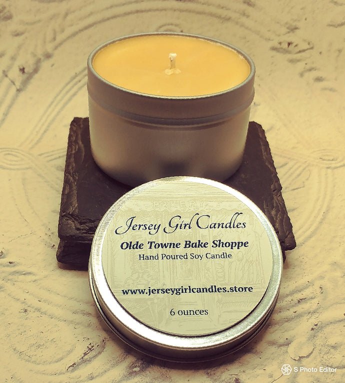 Olde Towne Bake Shoppe Soy Candle - Jersey Girl Candles