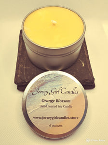 Orange Blossom Soy Candle - Jersey Girl Candles