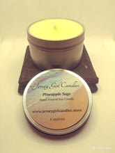 Load image into Gallery viewer, Pineapple Sage Soy Candle - Jersey Girl Candles