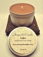 Load image into Gallery viewer, Coffee Soy Candle - Jersey Girl Candles