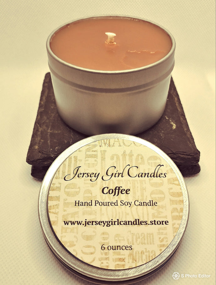 Coffee Soy Candle - Jersey Girl Candles