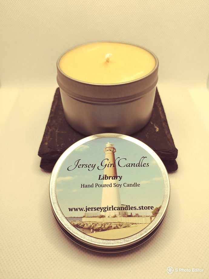 Library Soy Candle - Jersey Girl Candles