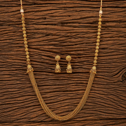 Antique Plain Necklace with gold plating