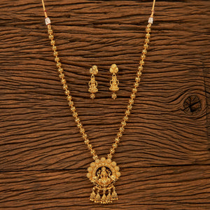 Antique Style Temple Necklace set with gold plating