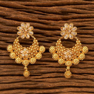 Antique Style Earring with gold plating