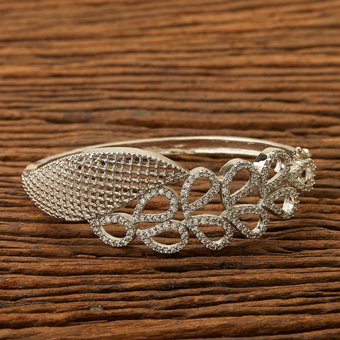 Cz Classic Bracelet with Rhodium plating