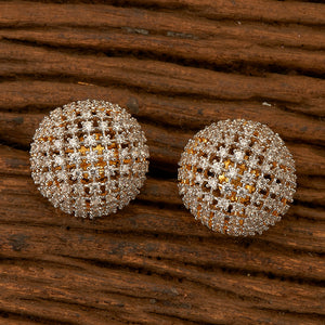 Cubic zirconia Tops with gold plating