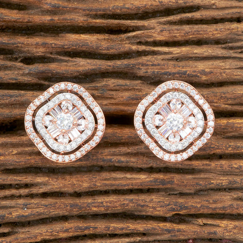 Cz Tops With Rose Gold Plating