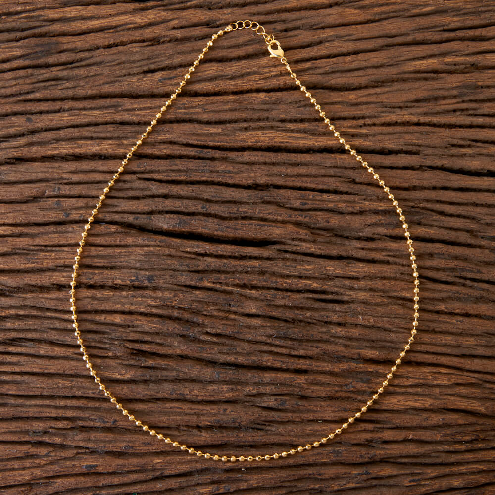 Delicate Chain With Gold Plating