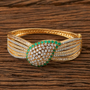 Cubic zirconia Classic Kada with 2 tone plating