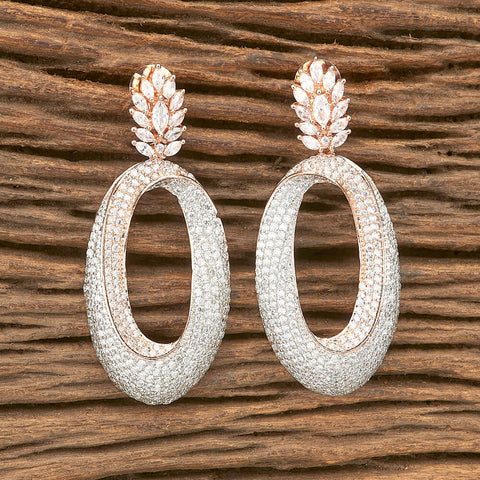 Z Classic Earring with rose gold plating