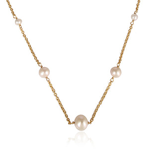 925 Silver Necklace With Pearls