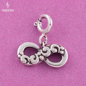 925 Silver Infinity Charm