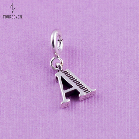 Charm Lettre A 925