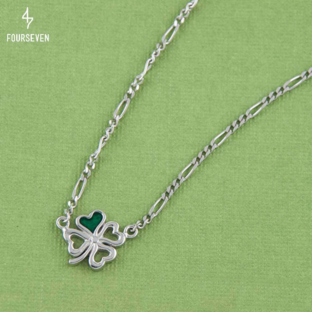 925 Silver Clover Necklace