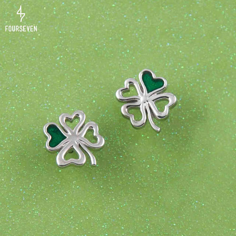 925 Silver My Lucky Day Stud Earrings