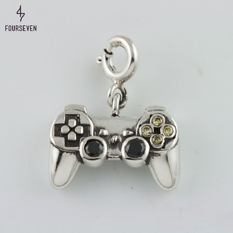 925 Silver You Got Game Charm