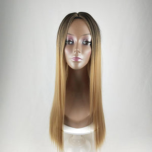 HAIRSASA | Pretty Gradient Long Straight Synthetic Hair Wig
