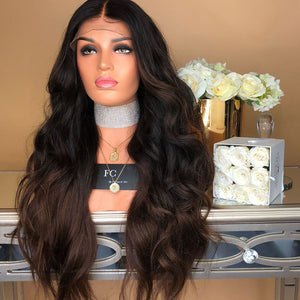 HAIRSASA |Fascinating Long Loose Wave Lace Front Synthetic Hair Wig