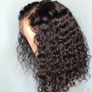 HAIRSASA | Sexy Short Black Curly Hair Human Hair Wig