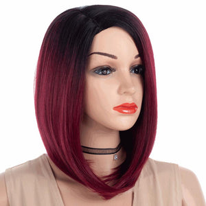 HAIRSASA | Bobo Hair Short Straight Hair Party Wigs Cosplay