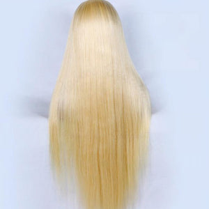 HAIRSASA | Brazilian Middle/Side Part Straight Lace Front Human Hair Wig